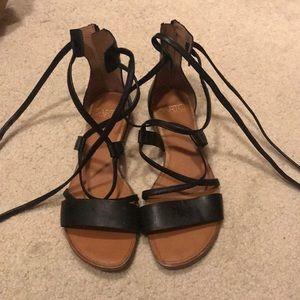 Franco sarto sandals gladiator tie